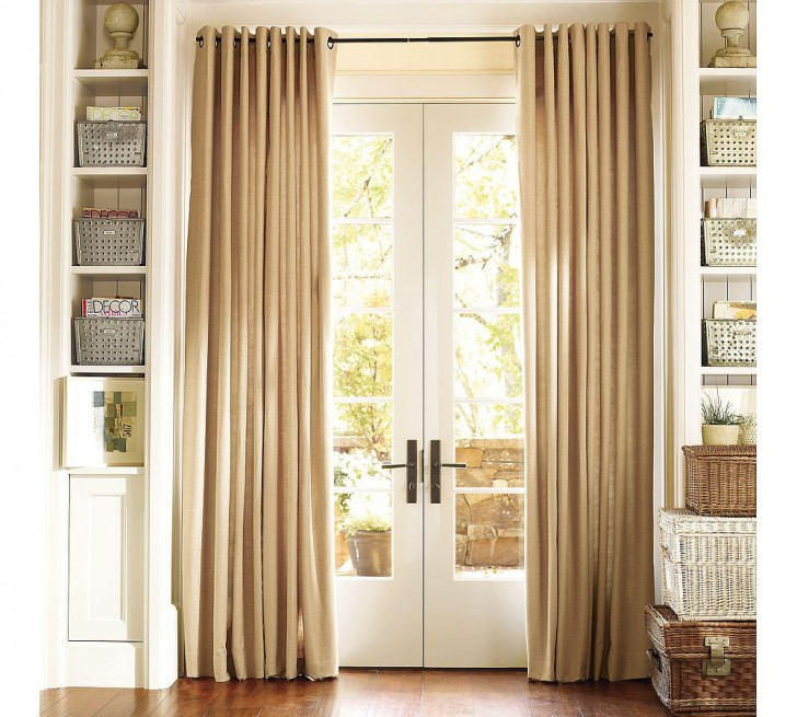 Others , 5 Popular Window Coverings For Sliding Glass Door : Curtains Ideas For Window