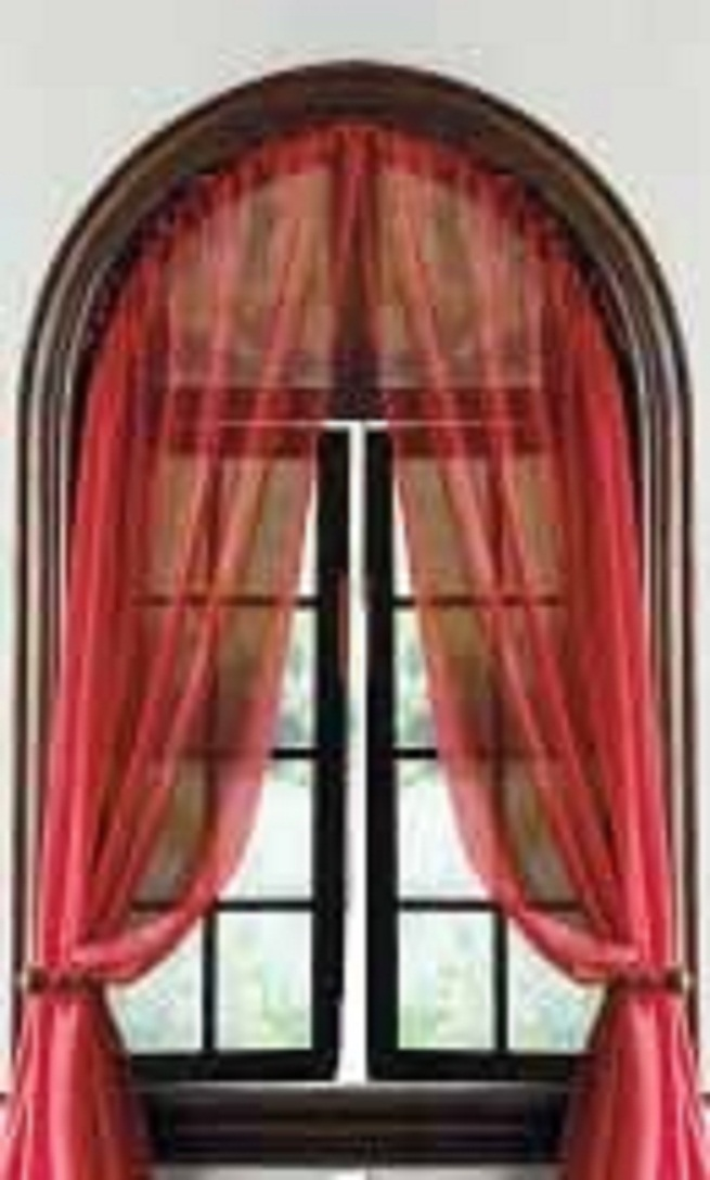 Curved Window Curtain Rod 7 Superb Arched Window