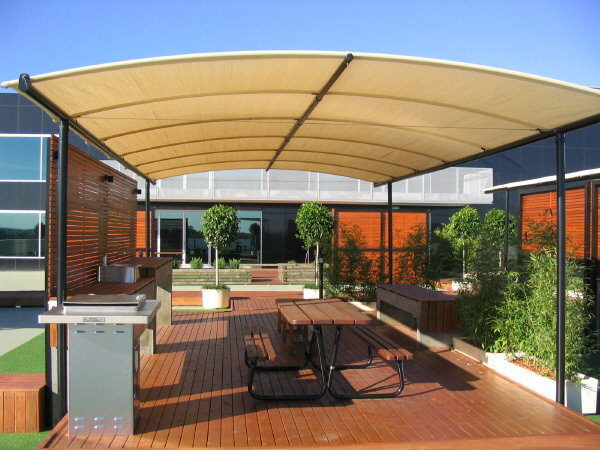 Homes , 7 Gorgeous Patio Shade Structures : Custom Designed Shade Structures