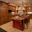Custom Kitchen Display , 8 Outstanding Knotty Alder Kitchen Cabinets In Kitchen Category