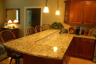 960x720px 7 Popular Canta Cecilia Granite Countertops Picture in Kitchen