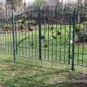 Custom Wrought Iron Fences , 6 Charming Rod Iron Fence In Others Category