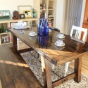 DIY Farmhouse Table , 6 Fabulous Diy Farmhouse Dining Table In Dining Room Category