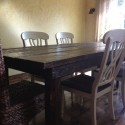 DIY farmhouse dining table , 6 Fabulous Diy Farmhouse Dining Table In Dining Room Category