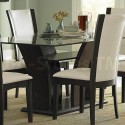 Daisy Rectangular Dining Table , 7 Awesome Glass Topped Dining Tables In Dining Room Category