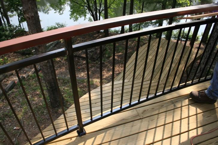 Homes , 8 Stunning Porch Railing Designs : Deck Railing Designs
