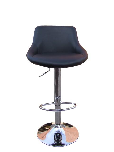 Furniture , 7 Fabulous Funky Bar Stools : Deep Brown Cool Chrome Funky Mellow Bar Stool