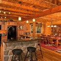 Kitchen , 5 Best Log Cabin Interior Design Ideas : Design Ideas