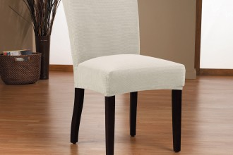 1300x1625px 8 Awesome Slipcovered Dining Chairs Picture in Furniture