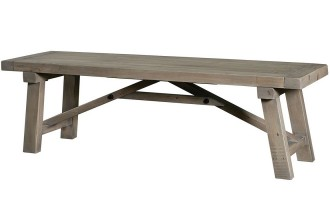 1155x1150px 7 Best Rated Farmhouse Dining Table With Bench Picture in Furniture