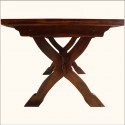 Dining Table , 6 Popular Rustic Pedestal Dining Table In Furniture Category