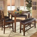 Dining Table Chair Set , 7 Awesome Triangle Dining Table With Benches In Dining Room Category