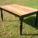 Dining Tables , 7 Stunning Zebra Wood Dining Table In Furniture Category