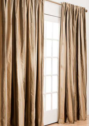 Furniture , 8 Brilliant Drapery Pleat Styles : Drapery Pleat Styles