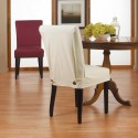Duck Natural Dining Chair Slipcover , 8 Awesome Slipcovered Dining Chairs In Furniture Category