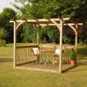 Easy Deck Kit Including Pergola , 6 Best Pergola Kits In Others Category