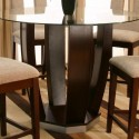 Emerson Collection Round Glass Pub Table , 7 Awesome Emerson Dining Table In Furniture Category