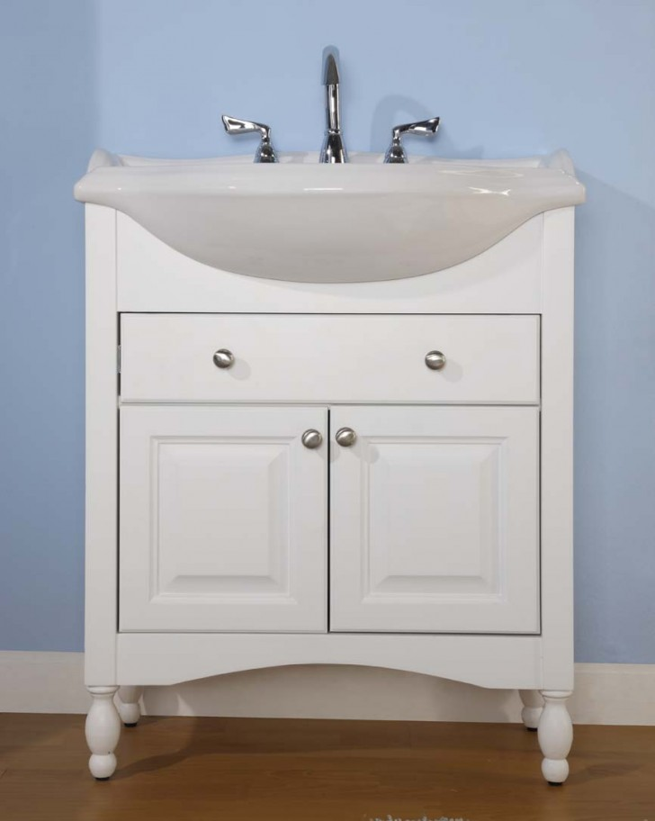 Furniture , 7 Unique Narrow Depth Bathroom Vanity : Empire Industries