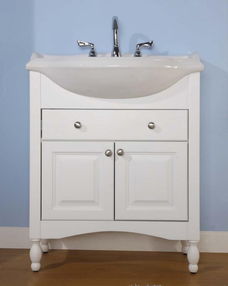 Furniture , 7 Unique Narrow Depth Bathroom Vanity : Empire Industries