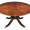 English Mahogany Pedestal Dining Table , 6 Charming Mahogany Pedestal Dining Table In Furniture Category