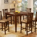 Espresso Counter Height Dining Table , 7 Unique Counter Height Dining Table With Leaf In Dining Room Category