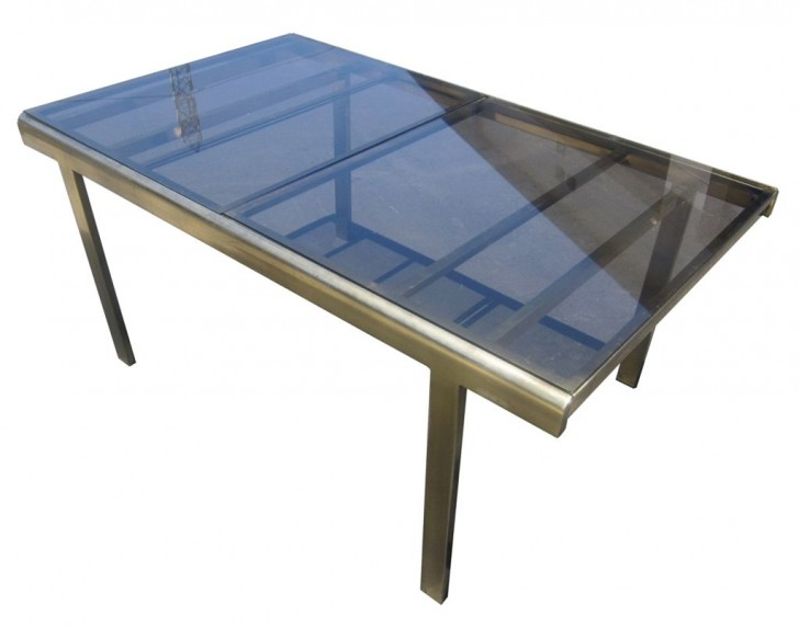 Furniture , 7 Amazing Expandable Glass Dining Table : Expandable Mastercraft Dining Table