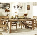 Extending Dining Table , 6 Gorgeous Benchwright Extending Dining Table In Dining Room Category