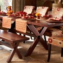Extending Trestle Table , 8 Brilliant Pier One Dining Table And Chairs In Dining Room Category