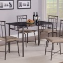 Faux Marble Casual Dining Table Set , 8 Hottest Faux Marble Dining Table In Dining Room Category