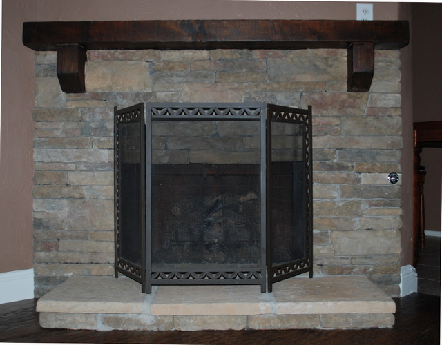 Others , 7 Excellent Fireplace Refacing : Fireplace Refacing traditional