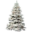 Flocked Alaskan Christmas Tree Prelit , 7 Cool Flocked Christmas Tree In Others Category