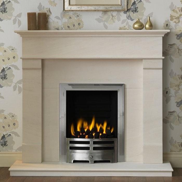 Others , 7 Stunning Limestone Fireplace : Gallery Derwent Limestone Fireplace Suite