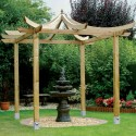 Grange Japanese Pergola Kit , 6 Best Pergola Kits In Others Category