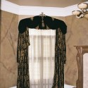 Great for an arched window , 7 Superb Arched Window Curtains In Interior Design Category