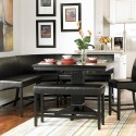 Height Breakfast Nook Dining Table , 7 Nice Corner Booth Dining Table In Dining Room Category