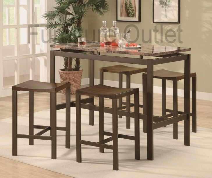Dining Room , 7 Best Cheap Counter Height Dining TableSets : Height Dining Table Set