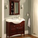 Furniture , 7 Unique Narrow Depth Bathroom Vanity : Industries Windsor