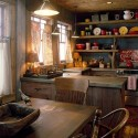 Kitchen , 5 Best Log Cabin Interior Design Ideas : Interior Design Ideas
