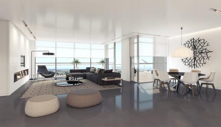 Living Room , 6 Nice Interior Design Ideas For Apartment Living Rooms : Interior Design Ideas