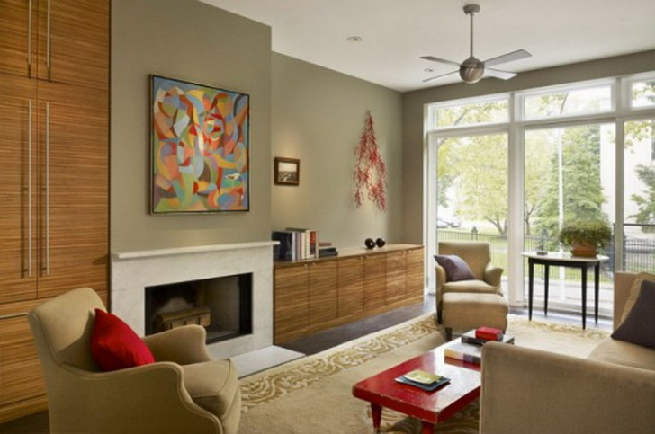 Living Room , 6 Hottest Townhouse Interior Design Ideas : Interior Design and decoration