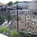 Iron Fences , 6 Charming Rod Iron Fence In Others Category