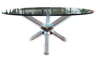 768x768px 7 Charming Lucite Dining Table Picture in Furniture