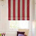 Kestrel Gardenia Stripe Pillarbox , 7 Superb Striped Roman Shades In Interior Design Category