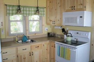 768x576px 8 Outstanding Knotty Pine Kitchen Cabinets Picture in Kitchen