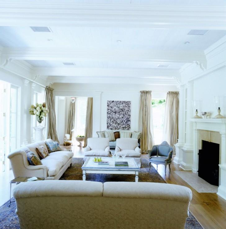 Living Room , 6 Lovely Interior Design Ideas For Large Living Room : Large Size Living Room Interior Design Ideas