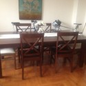 Large dining table , 8 Brilliant Pier One Dining Table And Chairs In Dining Room Category