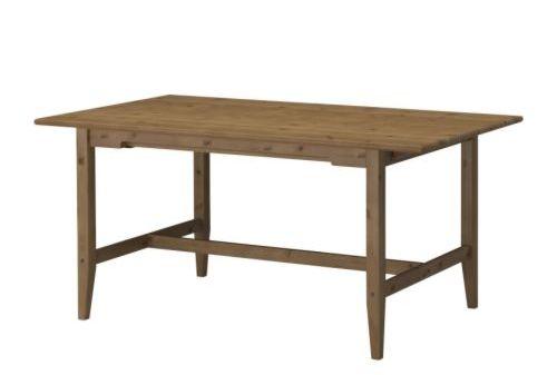 Furniture , 6 Popular Expandable Dining Table Ikea : Leksvik Table
