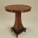 London Mahogany Finished Bistro Dining Table , 8 Excellent Maitland Smith Dining Tables In Furniture Category