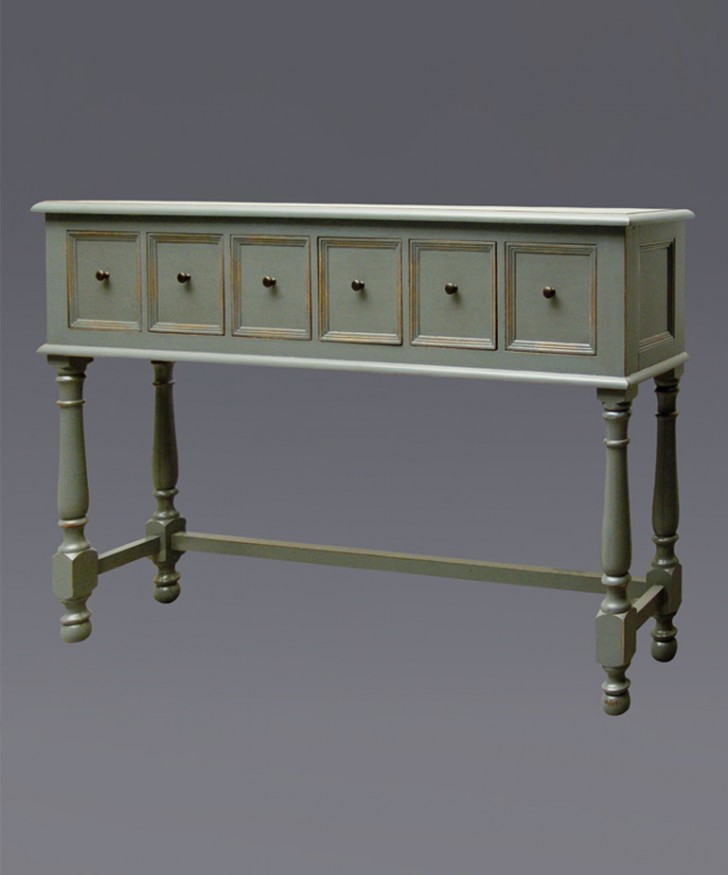Furniture , 7 Fabulous Long Narrow Console Table : Long Narrow Antique
