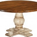Lorts Round Pedestal Dining Table , 7 Awesome Lorts Dining Table In Furniture Category